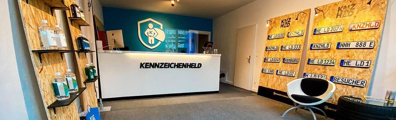 3D-Kennzeichen in Hamburg - unser Shop