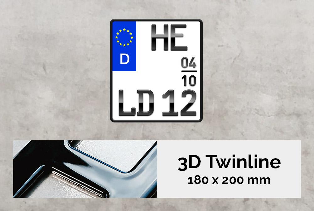 3D TWINLINE Saison in Hochglanz 180 x 200