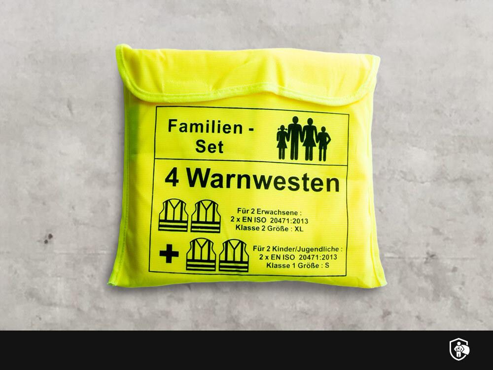 Warnweste - Familienset